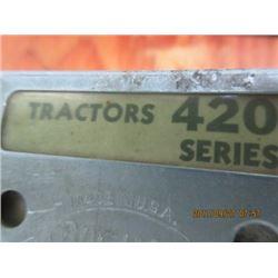 JD SERVICE MANUALFOR 420 CRAWLER TRACTORS