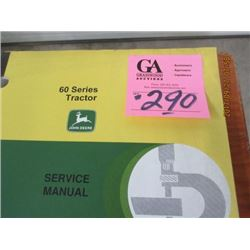 JD SERVICE MANUAL FOR 60 SERIES TRACTOR