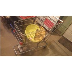 SHOPPING CART WITH PLANETARY COVERS FOR J.D. 420 CRAWLER