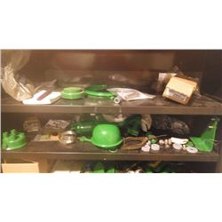 """CONTENTS ONLY OF METAL CABINET OF J.D. PARTS FOR """"420"""" CRAWLER"""