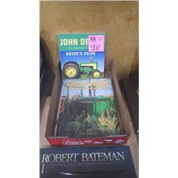"J.D. BUYERS GUIDE PLUS ""WORLD ENCYCLOPIA OF TRACTORS AND FARM MACHINERY ""HARD COVER BOOK"""