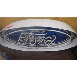 "NEON LIGHTED ""FORD"" SIGN"
