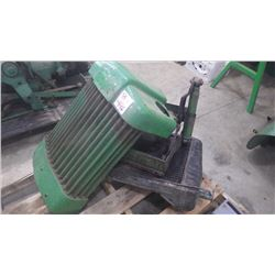 """J.D. """"40"""" CRAWLER GRILL AND RADIATOR ASSEMBLY"""