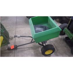 JD TOW BEHIND FERTILIZER SPREADER