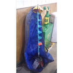 TANAKA TIA 305 GAS POWERED ICE AUGER IN AS NEW CONDITION