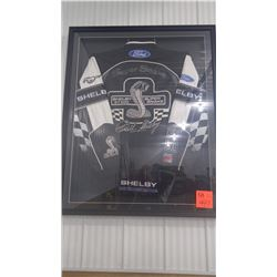 "FRAMED ""SUPER SNAKE"" SHELBY GT 500 JACKET SIGNED BY CAROL SHELBY"