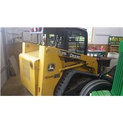 2009 JOHN DEERE CT315 2.4L TURBO CHARGED DIESEL TRACK LOADER 49HP AND 1500LB OPERATING CAPACITY, SEL