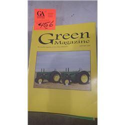2000 JD GREEN MACHINE MAGAZINE 10 ISSUES
