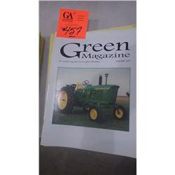2001 JD GREEN MACHINE MAGAZINE 10 ISSUES