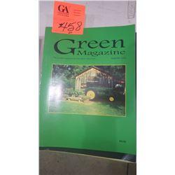 2002 JD GREEN MACHINE MAGAZINE 8 ISSUES