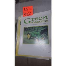 2004 JD GREEN MACHINE MAGAZINE 7 ISSUES