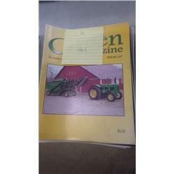 2007 JD GREEN MACHINE MAGAZINE 12 ISSUES