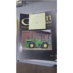 2008 JD GREEN MACHINE MAGAZINE 12 ISUES