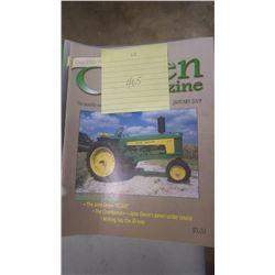 2009 JD GREEN MACHINE MAGAZINE 12 ISSUES