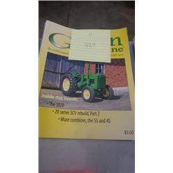 2013 JD GREEN MACHINE MAGAZINE 11 ISSUES