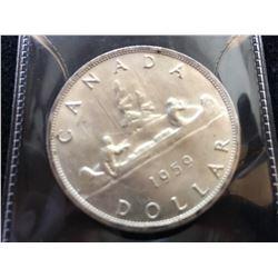 1959 Canada Dollar