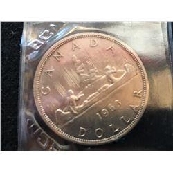 1963 Canada Dollar