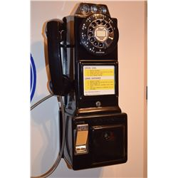 """Automatic Electric Company"" - Vintage Classic Rotary Payphone Coin-Op (25,10,5)"