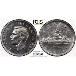 1952 S$1 PCGS AU Details Cert# 33393341