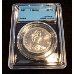 1968 Canada 1 Dollar - CCCS MS-65