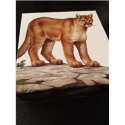 "2016 Canada 100 Dollar ""Cougar"" Pure Silver"