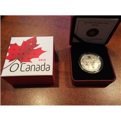 2013 RCM - $10 Silver Hockey - O'Canada