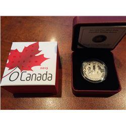 2013 RCM - $10 Silver Canadian Holiday Season - O'Canada