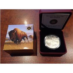 2013 RCM - $100 Silver Bison Stampede