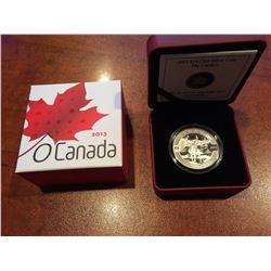 2013 RCM - $10 Silver The Caribou - O'Canada