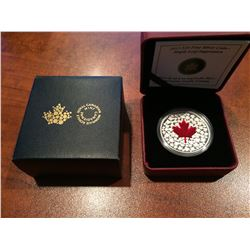 2013 RCM - $20 Silver Maple leaf Impression (Red)