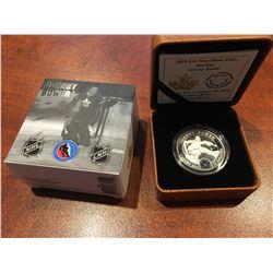2015 RCM - $10 Silver Toronto Maple leafs - Goalies Johnny Bower