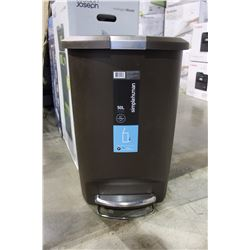 SIMPLE HUMAN 50L GARBAGE CAN