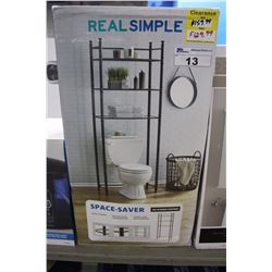 REAL SIMPLE SPACE SAVER BATHROOM SHELF