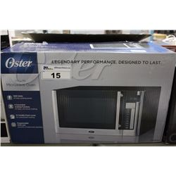 OSTER STAINLESS STEEL MICROWAVE