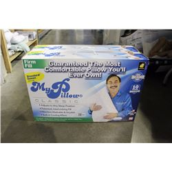 PAIR OF MR. PILLOW CLASSIC QUEEN SIZE FIRM FILL