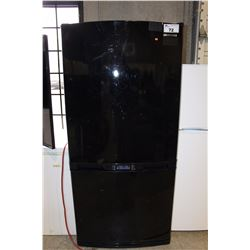 SAMSUNG BLACK 2 DOOR FRIDGE