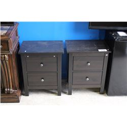PAIR OF PINE NIGHT STANDS