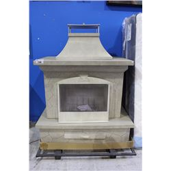 BRAND NEW OUTDOOR FIREPLACE WOOD BURNING