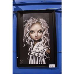 FRAMED PRINT BY ANGELINA WRONA
