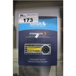 SIRIUS SATELLITE RADIO STARMATE 3 PLUS COMPLETE VEHICLE KIT