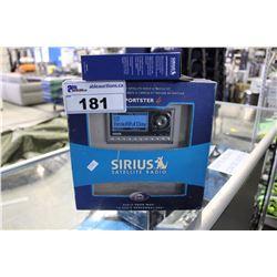 SIRIUS SATELLITE SPORTSTER 4 RADIO PLUG AND PLAY SATELLITE RADIO AND VEHICLE KIT WITH FM DIRECT