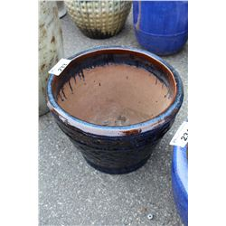 VIETNAMESE GLAZED PLANTER 13.5 IN