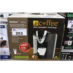 I-COFFEE SINGLE SERVE BREWING SYSTEM
