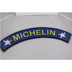 "SOLID CAST IRON 20"" MICHELIN ADVERTISING PLAQUE"
