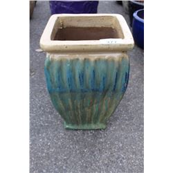 VIETNAMESE GLAZED PLANTER 26 IN