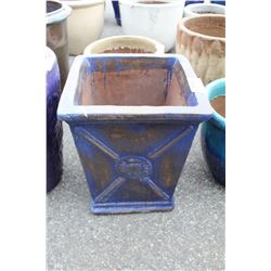 VIETNAMESE GLAZED PLANTER 23 IN