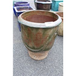 VIETNAMESE GLAZED PLANTER 27IN