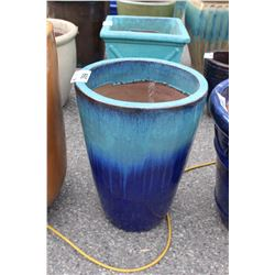 VIETNAMESE GLAZED PLANTER 22.5IN