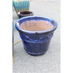 VIETNAMESE GLAZED PLANTER 19IN