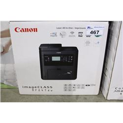 CANON IMAGE CLASS MF 2476W LASER ALL IN ONE PRINTER
